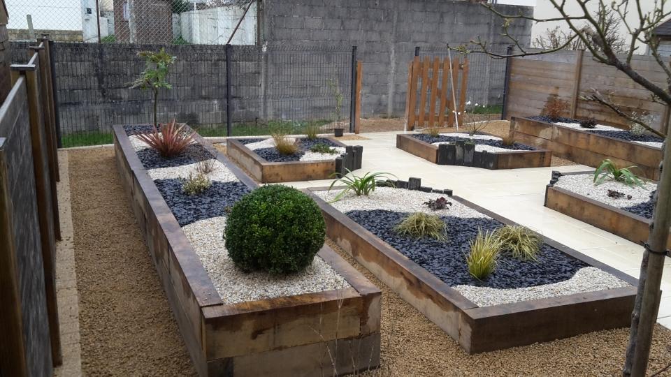 Petit jardin zen