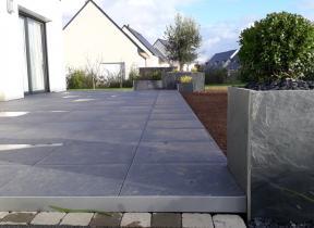 Terrasse Carrelage forte épaisseur